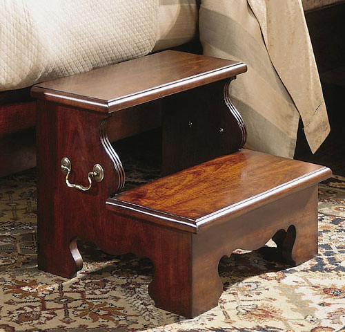 Bed step stool